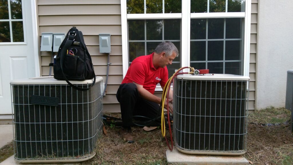 Leaking Water From Air Conditioning System